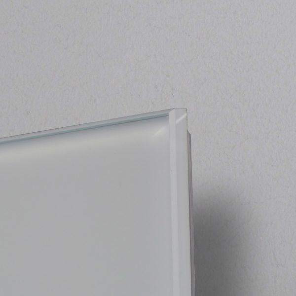 pannello Infrarossi Raffaello dettaglio vetro bianco