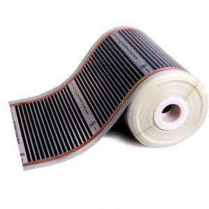 riscaldamento radiante a soffitto o parete pellicola riscaldante