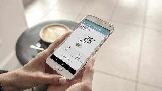 riscaldamento da app