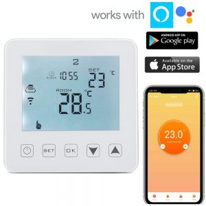 termostato wifi per riscaldamento elettrico Alexa