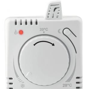 termostato manuale presa rotellina